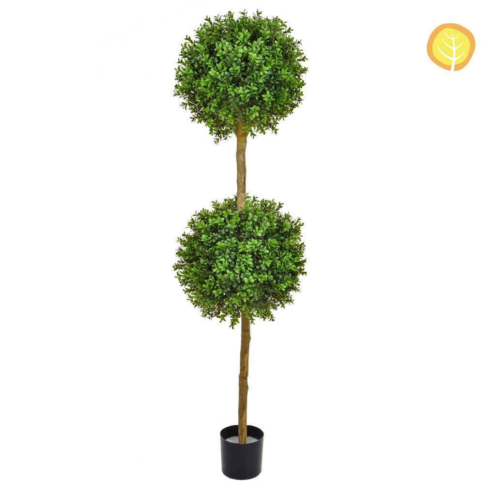 Topiary New Buxus Double Ball Tree 150cm