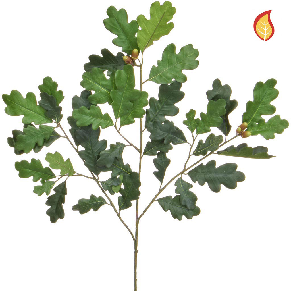 Foliage New Oak Green Fruit 68cm UK FR