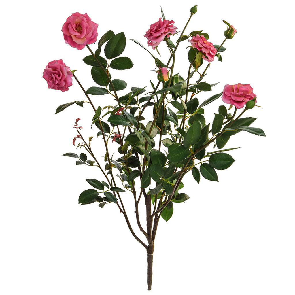 SF Rose Plant Large K Pink 78cm