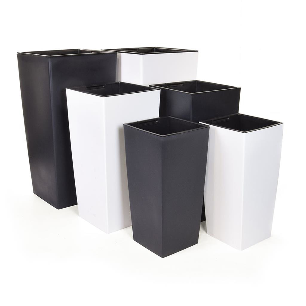 V-Pot Urbi Square white P 50x25x25cm