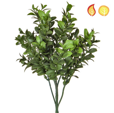 Foliage Buxus Green 47cm FR UV
