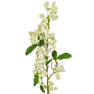 Foliage Snowberry Real Touch Crm GB 61cm