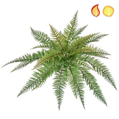 Plants Base Fern Leather SF 48cm UVFR