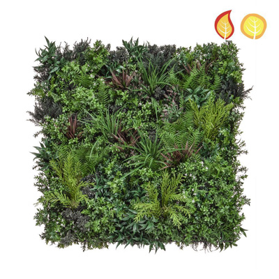 Greenwall Mat Mixed 100x100cm FR UV