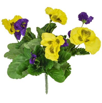 Plants Flowering Pansy Mix Bush P/Y 28cm