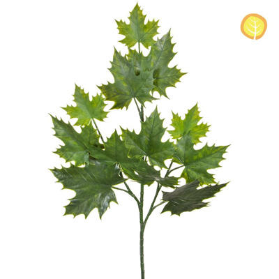 Foliage Maple Sugar Plastic Grn 74cm UV