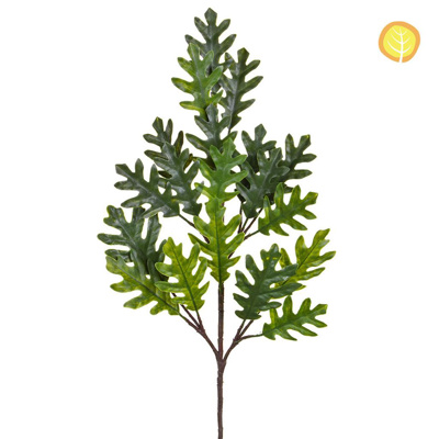Foliage Oak Plastic Branch Grn 75cm UV