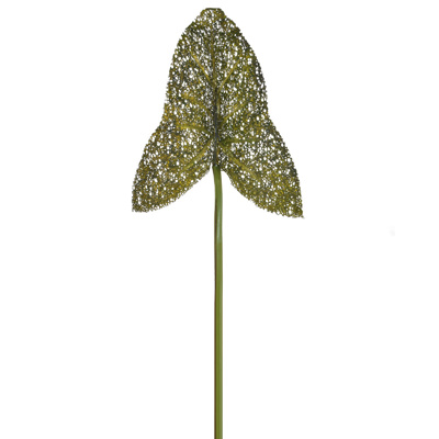 SF Leaf Elephant Ear Matt NG Green 80cm