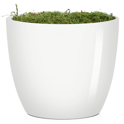 V-Pot N-Ceramic White 11cm