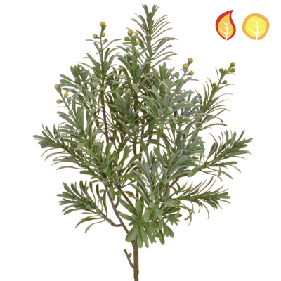 Foliage Artemisia Grey/Green 45cm FR UV