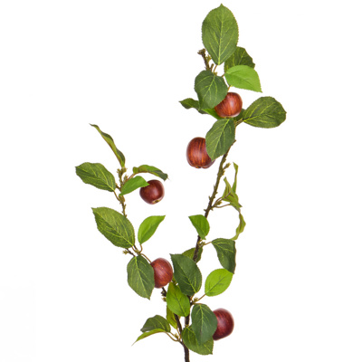 Foliage Apple W Red Fruit GB 109cm