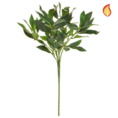 Foliage Bay Laurel Green 50cm FR